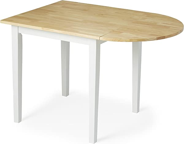 现代乡村小屋白色餐桌包括 Modhaus Living Pen