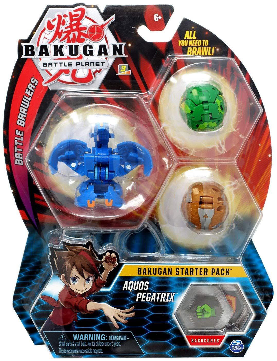 BAKUGAN Starter Pack - Pack Aquos Pegatrix: Amazon.es: Juguetes y ...