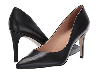 Massimo Matteo Raven Pump (Black Leather) High Heels