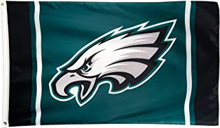 Winner-Sports NFL Philadelphia Eagles 3x5 Foot Polyester Flag - Vivid Color and Double Stitched - Super Bowl Banner with Brass Grommets 3 X 5 FT