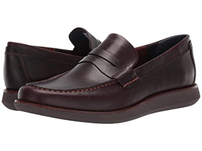 Sperry Kennedy Penny Loafer (Brown/Brick) Men