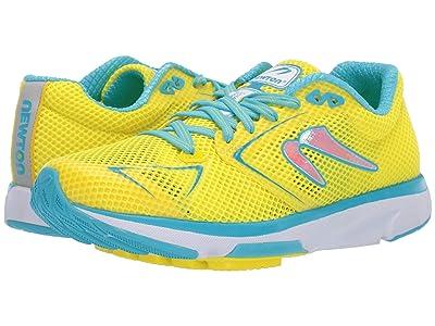 Newton Running Distance S 8 (Yellow/Blue) Women