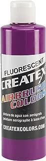 Createx Colors Paint for Airbrush, 8 oz, Fluorescent Violet