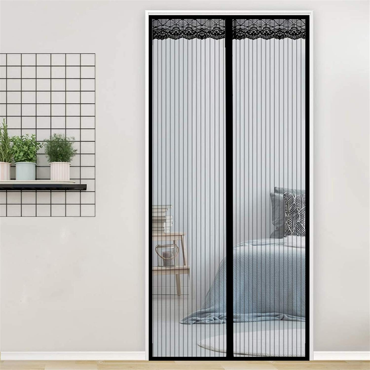 THAIKER Magnetic Fly Screen Door Keep Max 70% OFF Inse 87x83inch Cash special price 220x210cm