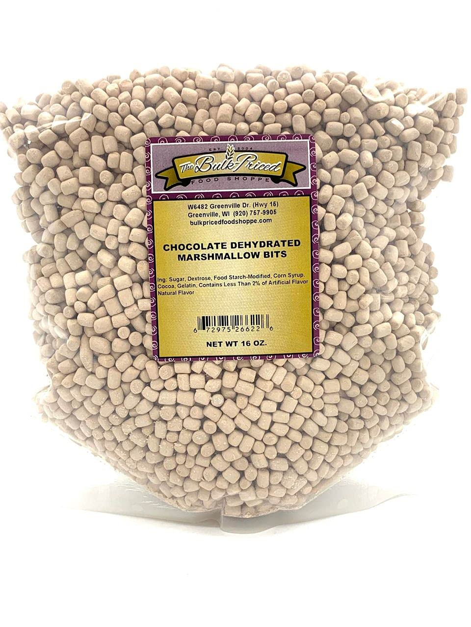 Weekly update Chocolate Dehydrated Marshmallow Bits Size Marshma Bulk Denver Mall Cereal