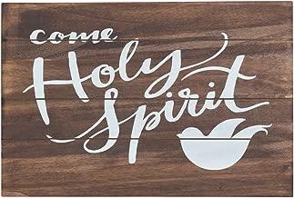 Wall Plaque - Come Holy Spirit