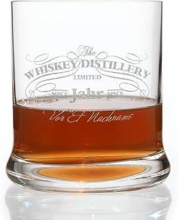 Leonardo Whiskyglas mit gratis Gravur des Namens & Geburtsjahr Motiv: Distillery