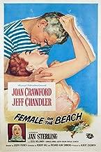 Posterazzi Female On The Beach Jeff Chandler Joan Crawford Jan Sterling 1955 Movie Masterprint Poster Print (11 x 17)