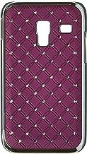 JUJEO Purple Starry Sky for Samsung Galaxy Admire 4G R820 MetroPCS Rhinestone Hard Case Cover - Non-Retail Packaging - Purple