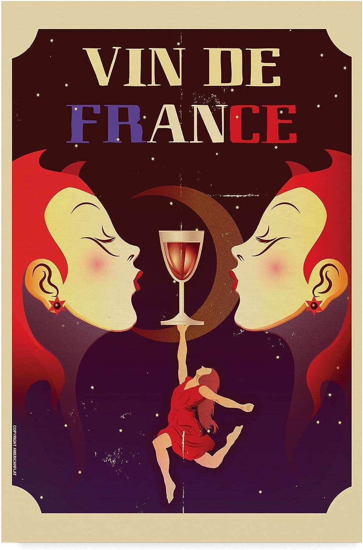 Vin de France by American Flat, 12x19Inch