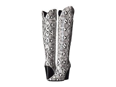 Steve Madden Ranger Boot (Black/White Snake) Women