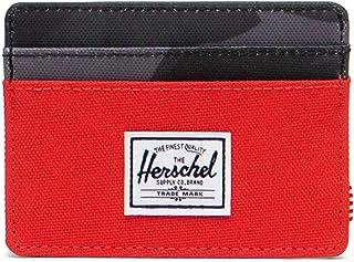 Herschel Charlie RFID, Fiery Red/Night Camo