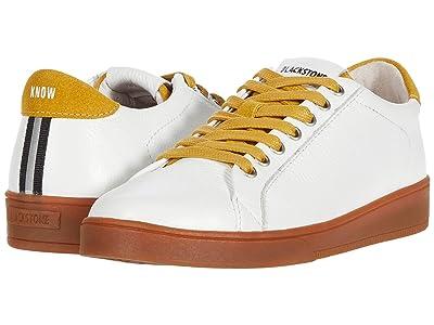 Blackstone Low Sneaker Gum Bottom RL84 (White/Oil Yellow) Women