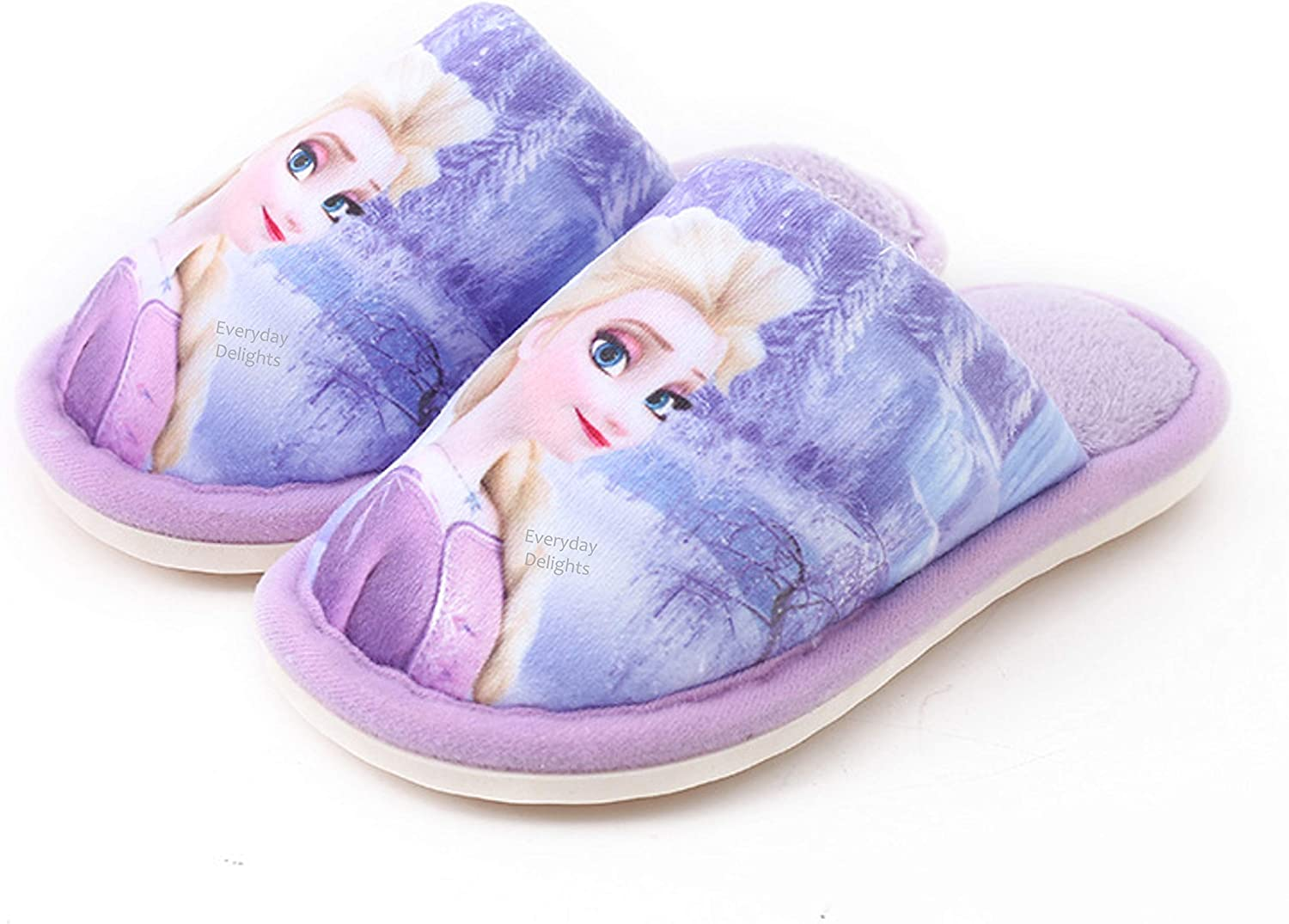 Disney Frozen II Elsa Plush Slippers Some reservation for Chi Kids Toddlers Girls Max 72% OFF