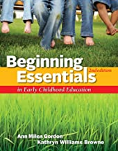 Cengage Advantage Books: Beginning Essentials in Early Childhood Education