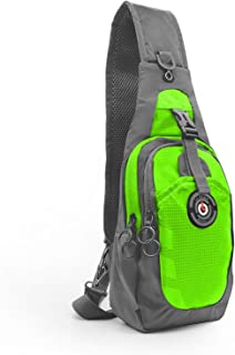 LC Prime Sling Bag, RFID Blocking Tiny Compact Shoulder Bag, for Men Women Travel Gym Sport Hiking