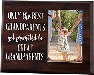 Elegant Signs Only The Best Grandparents Get Promoted Gift for Grandparents Ultrasound..