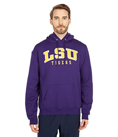 Champion College LSU Tigers Eco(r) Powerblend(r) Hoodie (Champion Purple 3) Men