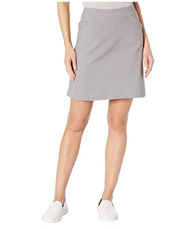 Tribal Stretch Bengaline Pull-On Skort (Shadow) Women