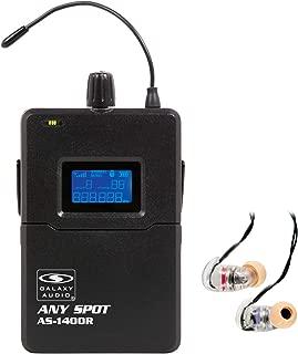 Galaxy Audio AS-1406RM 1400 Series WPM Receiver W/EB6: AS-1400R with EB-6