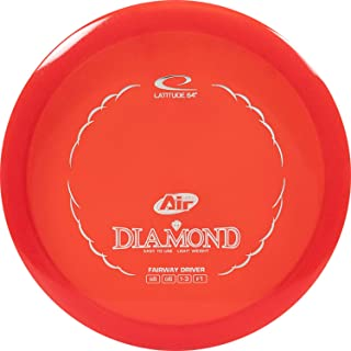 D·D DYNAMIC DISCS Latitude 64 Opto Air Diamond Beginner Friendly Disc Golf Driver | Easy to Throw Frisbee Golf Fairway Driver | 145-159g | Stamp Color Will Vary