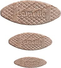 Cut360. com Lamello//–/Placas Conexi/ón pl/ättchen Surtido; tama/ño 0//10//20//–/Por tama/ño 100/unidades je Gr/ö/ße 100 St/ück 301 Gr/ö/ße 0//10//20