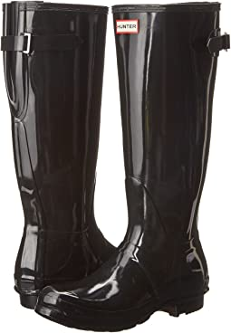 Hunter - Original Back Adjustable Gloss Rain Boots