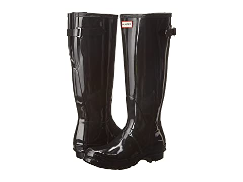 Hunter Original Back Adjustable Gloss Rain Boots eoJ0IN