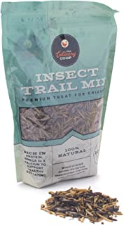 Fluker`s 15005 Culinary Coop Chicken Treats - Dried Insect Trail Mix, 10oz