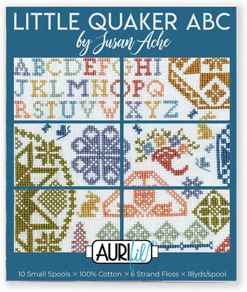 Mail order cheap Aurifil Designer Thread Collection-Susan High material ABC Quaker Ache Little