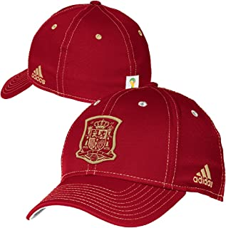 a35489e076d Spain Soccer 2014 FIFA World Cup Solid Logo Flex Fit Hat   Cap