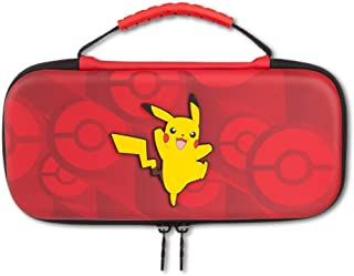 PowerA Travel Protection Case For Nintendo Switch with Carry Handle, Officially Licensed - Pokémon Pikachu