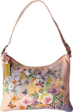 Anuschka Handbags 605 Slim Large Hobo
