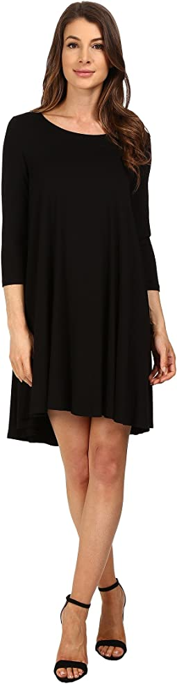 Karen Kane 3/4 Sleeve Maggie Trapeze Dress