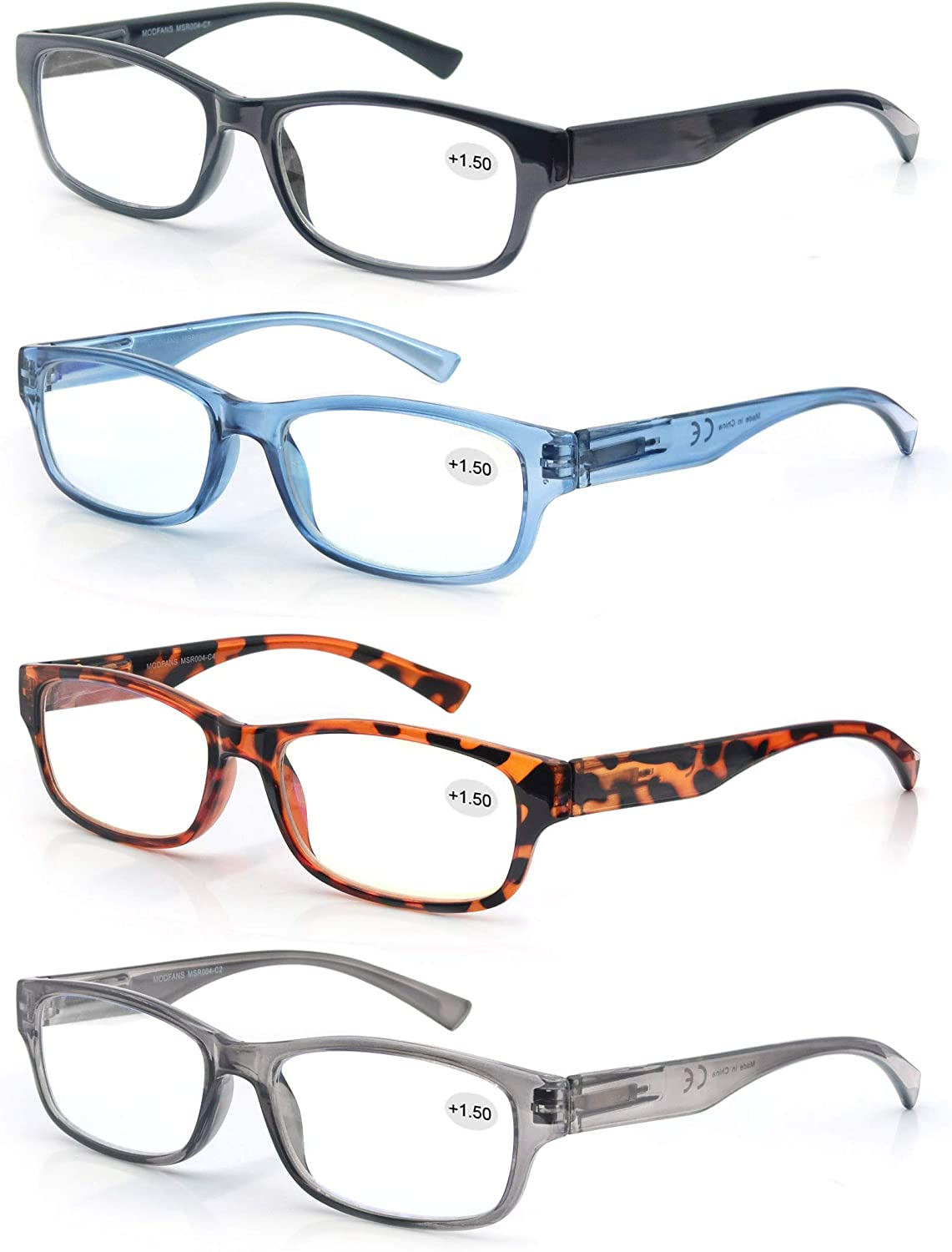 Set Ranking TOP14 of Mixed Colors Reading Spring Max 79% OFF with Hinges Vintag Glasses