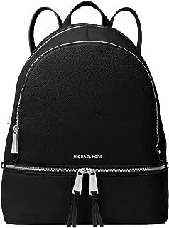 Rhea Large Leather Backpack