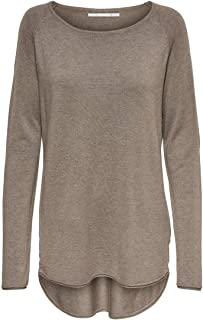 Only Onlmila Lacy L/S Long Pullover Knt Noos suéter para Mujer