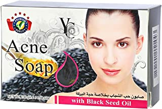 YC Acne Soap with Black Seed Oil, 130 g