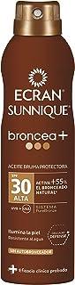 Ecran Sunnique Broncea+, Aceite Bruma Solar con SPF30 - 250 ml