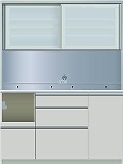 パモウナ 食器棚ME シルキーアッシュ 幅140×高さ187×奥行50 日本製 MEL-1400R