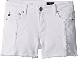 The Sandy Fray Hem Piecing Shorts (Big Kids)