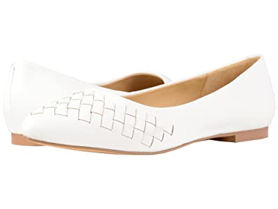 Trotters Estee Woven (Off-White Woven Leather) Women