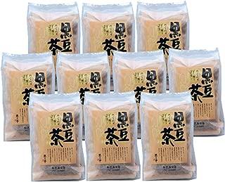 遊月亭 黒豆茶 お徳用 ティーパック10包入を10袋 ノンカフェイン 黒豆100% 発芽焙煎 たっぷり黒豆茶100包