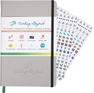 Ignimind Creating Beyond 3 Months Daily Planner Diary 2020 & Productivity Journal for Goal Setting   Time Management Tool...