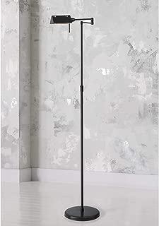 Lite Source LS-960D/BRZ Floor Lamp with Metal Shades, 23
