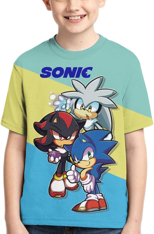 Bombing new work Chencym Award-winning store Sonic Kids T Shirt 3D Girls and S Boys Printed for