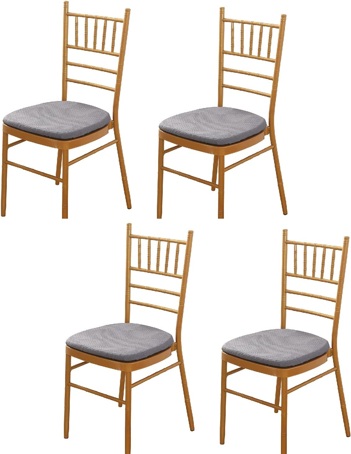 Padgene Stretch Printed service Dining Chair Covers Removable Wash Seat Gifts