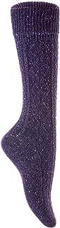 LOVART'S BEAUTY 靴下 ハイソックス あったか ウール混 ナチュラル 22~25cm レディース ロングソックス