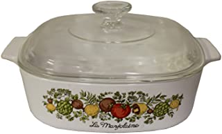 Corning Ware Spice O' Life 2 Quart Casserole with Lid A-2-B