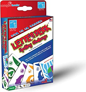 Family Card Game: Family Fun Games For Kids and Adults - Vocabulary Building, Increase Spelling skills, Enhance Memory. Great for cooperative learning